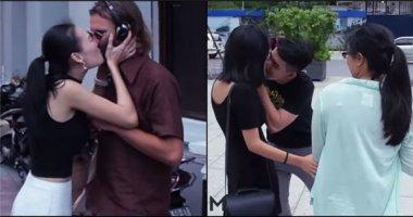 """""""Kiss Cam phiên bản Việt""""- Trào lưu đã thành... trò lố?"""