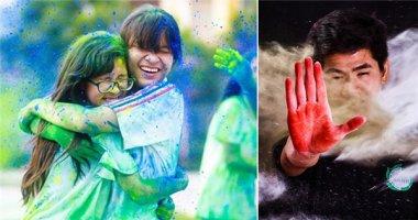 """Giới trẻ """"phát sốt"""" với trào lưu chụp ảnh cùng bột màu đầy cá tính"""