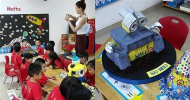 Hà Hồ đến tận lớp học mừng sinh nhật sớm cho Su Beo
