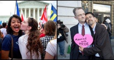 """Những hình ảnh """"ngọt ngào"""" trong ngày hợp pháp hóa hôn nhân đồng giới"""