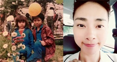 Hồ Ngọc Hà khoe hình ngày bé cùng anh trai, Ngô Thanh Vân tự tin khoe mặt mộc