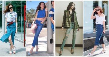 """Những bộ trang phục jeans """"chất miễn chê"""" của sao Việt"""