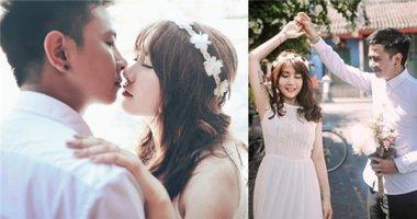 """Tan chảy trước bộ ảnh cưới ý nghĩa của cặp đôi """"yêu không bình thường"""""""