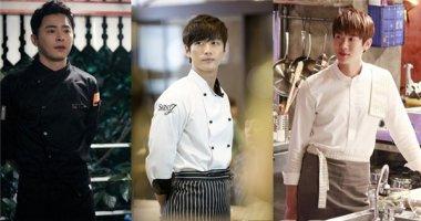 Ngẩn ngơ với độ đẹp trai của những đầu bếp phim Hàn