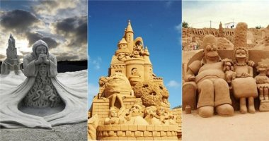 Những tác phẩm siêu kì công hoàn toàn từ… cát biển