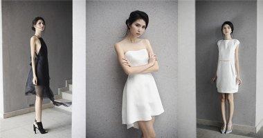 Thùy Dương mong manh trong trang phục trắng, đen