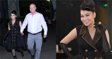 Chồng Thu Minh lần đầu lộ diện sau hơn một tháng trông con