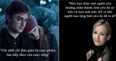 """Những câu nói đáng nhớ của """"mẹ đẻ"""" Harry Potter"""