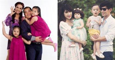 Cuộc sống hạnh phúc, giản dị đáng mơ ước của gia đình sao Việt (P1)