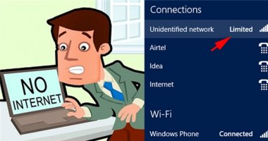 """Thủ thuật khắc phục mạng Wi-Fi bị """"dấu chấm than"""" bảo đảm thành công"""