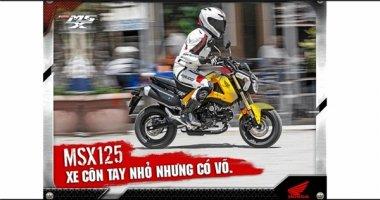 """Giới trẻ Việt hào hứng """"Đọ dáng cùng Honda MSX125"""""""