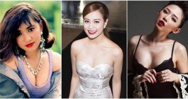 Top 3 mĩ nhân gợi cảm trứ danh showbiz Việt
