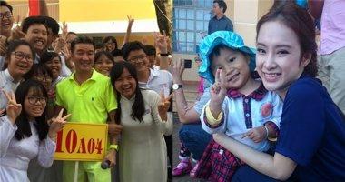 Dàn sao Việt hân hoan, nô nức ngày vui tựu trường
