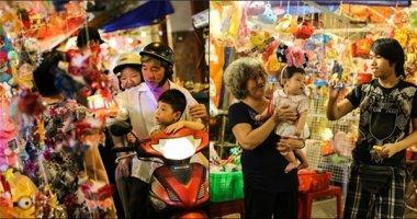Người Sài Gòn giản dị đón Trung thu ở phố lồng đèn