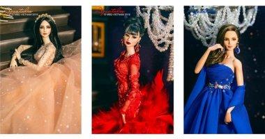 Trang phục dạ hội đầy mê hoặc của Hoa hậu Búp bê Việt Nam 2015