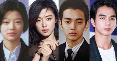"""Thích thú ngắm hình ảnh thời """"trẻ trâu"""" của loạt sao Hàn"""