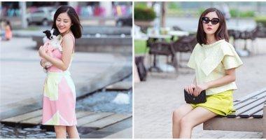 Thời trang đường phố kẹo ngọt đầy thu hút của Văn Mai Hương