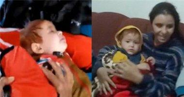 Cảm động giây phút cứu sống bé trai nhập cư 18 tháng tuổi