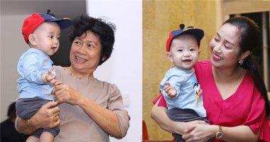 Mẹ của Ốc Thanh Vân bất ngờ đưa cháu ngoại đột nhập trường quay