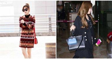 Thời trang sân bay tinh tế của cô nàng mắt cười đẹp nhất Kpop
