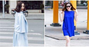 """Trang phục sắc xanh - xu hướng sẽ """"bùng nổ"""" thời gian tới"""