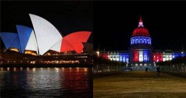 Kỳ quan khắp thế giới chuyển màu cờ Pháp sau vụ khủng bố