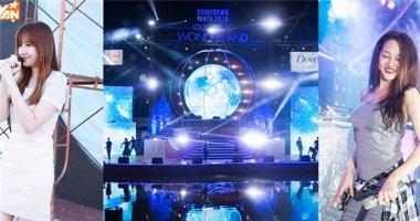 Hari Won-Bảo Anh đọ vẻ đáng yêu trong buổi tổng duyệt Countdown Party
