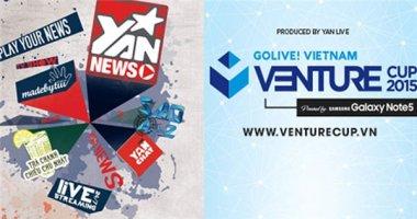 Livestream: Ngày hội Venture Cup 2015