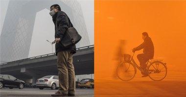 Hoảng hồn trước loạt ảnh đặc tả cảnh ô nhiễm môi trường tại Bắc Kinh