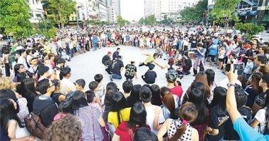 Đông đảo nghệ sĩ quy tụ trong Liên hoan nghệ thuật đường phố