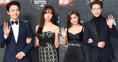 """Dàn diễn viên xứ Hàn """"áp đảo"""" thần tượng Kpop tại MAMA 2015"""