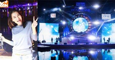 """Thu Minh """"tươi hết cỡ"""" trên sân khấu hoành tráng Countdown Party"""