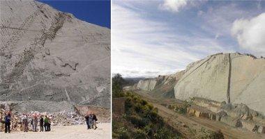 Vách đá có hơn 5.000 vết chân khủng long cổ đại
