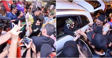 Fan Việt quây kín Rita Ora là Lucky J tại sân bay