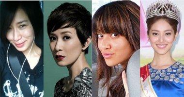 Giật mình với nhan sắc thật không son phấn của dàn hoa hậu, á hậu TVB
