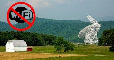 """Kì lạ thị trấn không cho dùng Internet không dây, chuyên """"săn"""" UFO"""