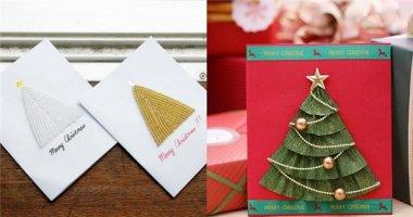 Mách bạn cách làm thiệp cây thông Noel đơn giản mà cực xinh