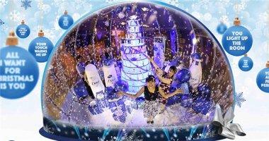 Quả cầu tuyết lớn nhất Việt Nam khiến giới trẻ Sài Gòn phát sốt