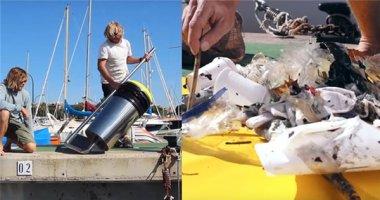 """Ngạc nhiên trước """"thùng rác biển"""" có thể thu thập rác cực nhanh"""