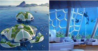 Choáng ngợp với ý tưởng thành phố lộng lẫy dưới đáy đại dương