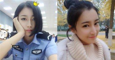 """Phát sốt với """"nữ cảnh sát xinh đẹp nhất Trung Quốc"""""""