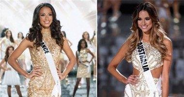Hoa hậu Pháp và Australia đều nhận là á hậu hoàn vũ 2015