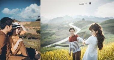 """Bộ ảnh cưới đẹp như mơ ở Mộc Châu của cặp đôi """"oan gia"""""""
