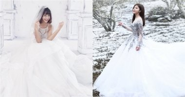 Đọ sắc dàn hot girl Việt khi diện váy cưới trắng tinh