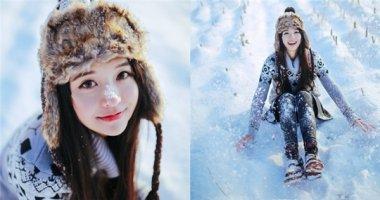 """Tan chảy trước vẻ đẹp mong manh của """"nàng công chúa tuyết"""""""