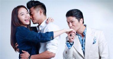 Mải mê ôm hôn Minh Hằng, Quý Bình bị Dustin Nguyễn chọc ghẹo
