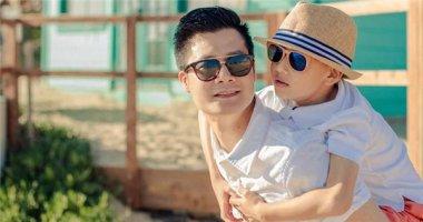 Quang Dũng đưa con trai Bảo Nam về quê ăn Tết