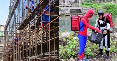Khi Batman và Người Nhện ra tay... nhặt rác, xây nhà