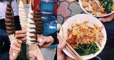 """Dạo phố Lý Thường Kiệt thưởng thức món ngon """"siêu hot"""""""