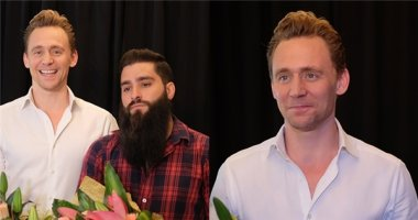 Ngất ngây với vẻ điển trai của nam tài tử Tom Hiddleston